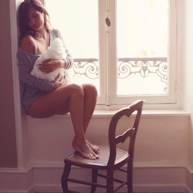 Photographe à Metz lingerie et portrait de femme