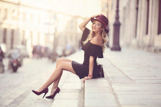 Photo de femme à Paris